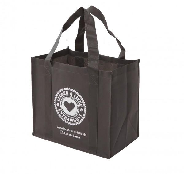 PP-Vlies Mehrwegtaschen mit Firmendruck