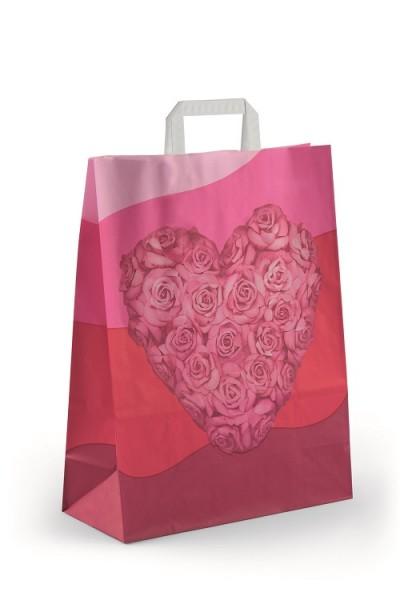 """Papiertragetaschen Topcraft """"Heart"""""""