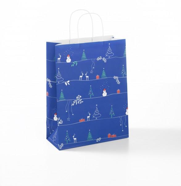 """Papiertragetaschen Toptwist """"Weihnachtszeit"""""""