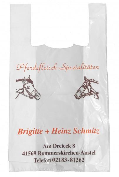 Hemdchentragetaschen Firmendruck: Schmitz