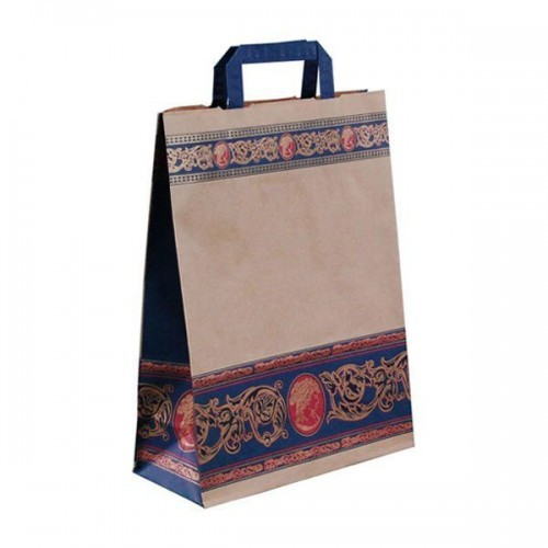"Papiertragetaschen - Trendbag ""Cameo Blu"""