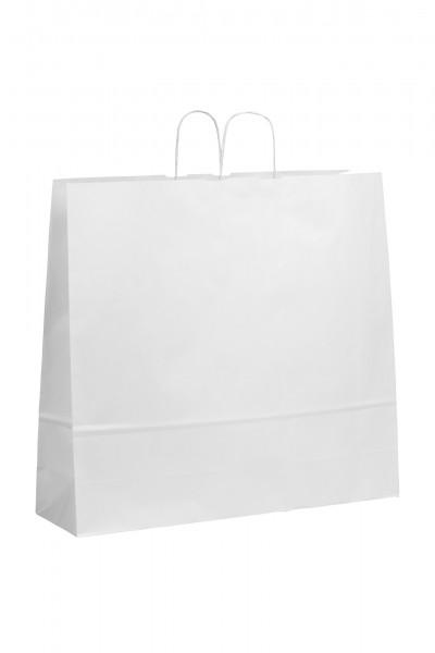 Papiertragetaschen Toptwist ohne Druck/weiß