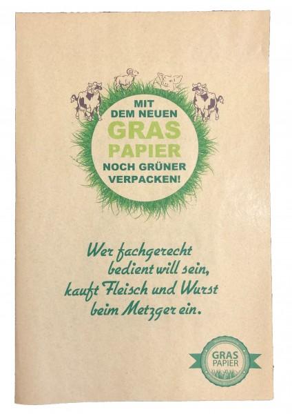 """Graspapier - Einschlagpapier """"Fleisch & Wurst"""""""