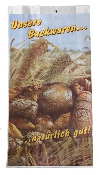 "Faltenbeutel ""Unsere Backwaren"" - 427"