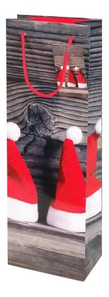 """Weihnachts - Flaschenbeutel """"Zipfelmützen"""""""