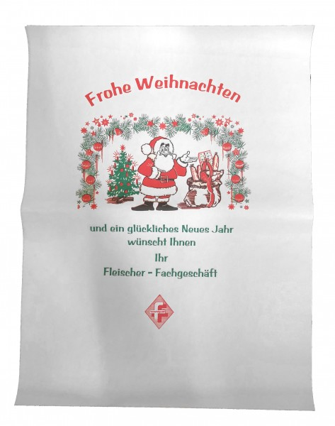 """Frischpack weißCell 35 gr/qm """"Weihnachten"""""""