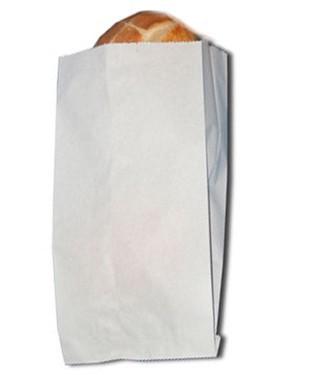 Faltenbeutel ohne Druck/weiß - 419