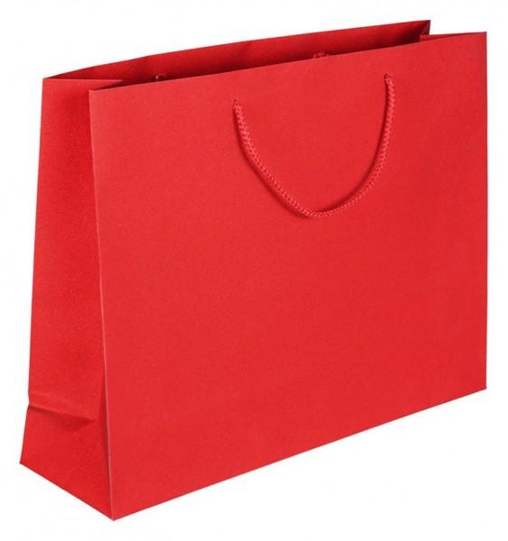 Glamour - Papiertragetaschen Farbe: rot