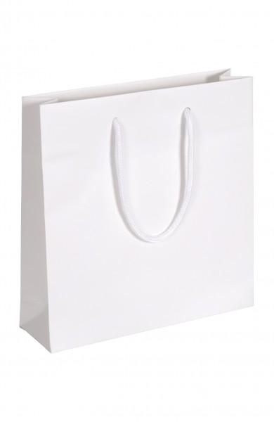 Carat - Papiertragetaschen Farbe: weiß
