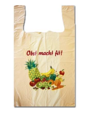 """Hemdchentragetaschen """"Obst macht fit"""""""