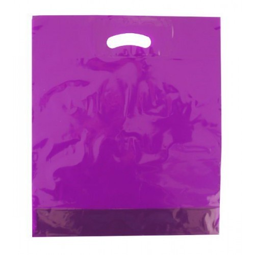 """Poly - Tragetaschen """"Tropic"""" Farbe: violett"""