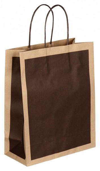 Papiertragetaschen Eco Farbe: braun