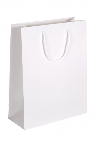 Exklusive - Papiertragetaschen Druck: weiß
