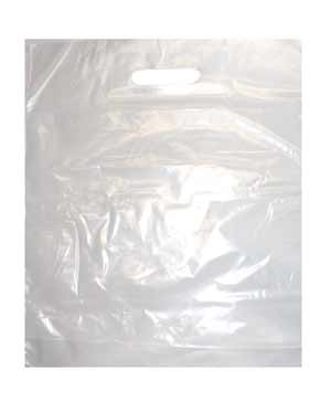 Poly - Tragetaschen ohne Druck/transparent