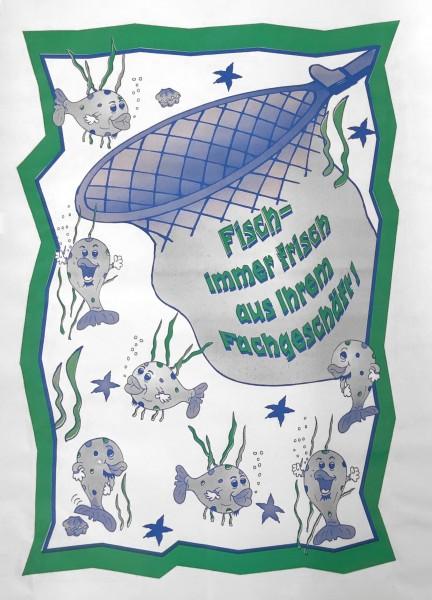 """Frischpack illu 55 gr/qm """"Fisch"""" - 1/8 Bogen"""