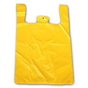 Hemdchentragetaschen ohne Druck/gelb