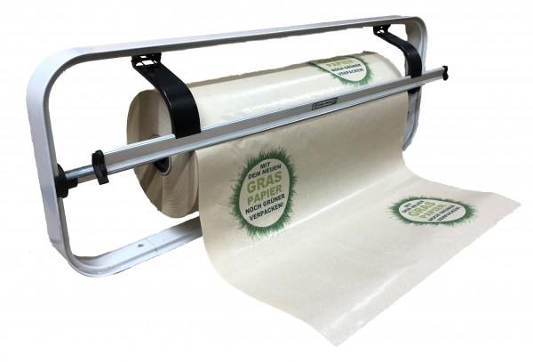 "Graspapier - Rolleneinschlagpapier ""grüner Verpacken"""