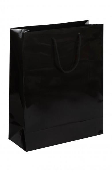 Exklusive - Papiertragetaschen Druck: schwarz