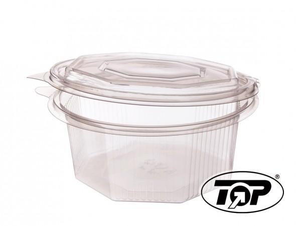 Klappboxen 8-eckig - 250 ml
