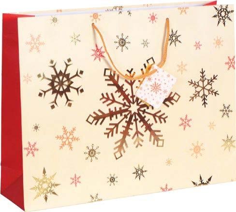 """Weihnachts - Tragetaschen """"Schneesterne"""""""