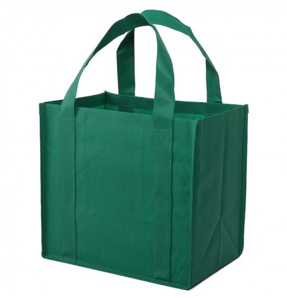 PP-Vlies Mehrwegtaschen Farbe: grün - B10