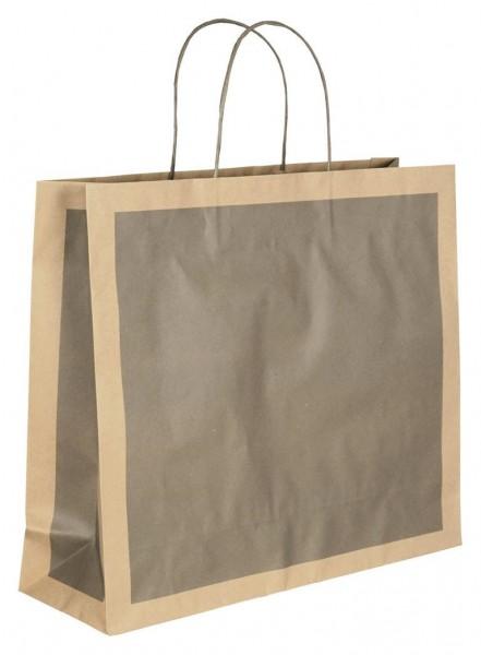 Papiertragetaschen Eco Farbe: grau