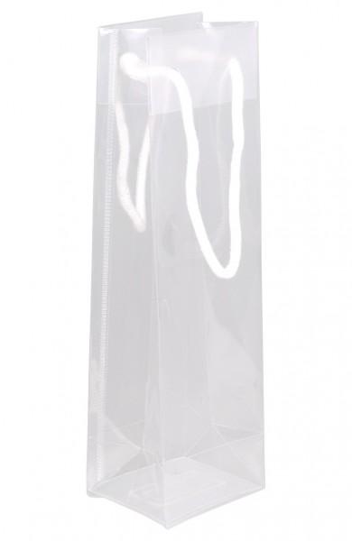 Flaschenbeutel aus Polypropylen für 1 Flaschen Farbe: klartransparent