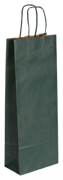 Flaschenbeutel für 1 Flasche Farbe: grün