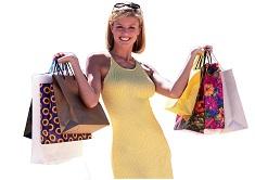 Frau-mit-Taschen