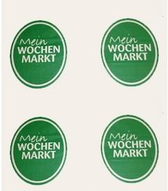 """Einschlagpapier - ColCell 50 gr/qm """"Wochenmarkt"""""""