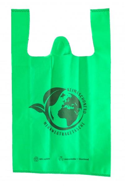 "PP-Vlies Hemdchentragetaschen Farbe: grün ""Umwelt"""