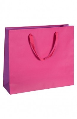 Royal - Papiertragetaschen Farbe: rubin/lila