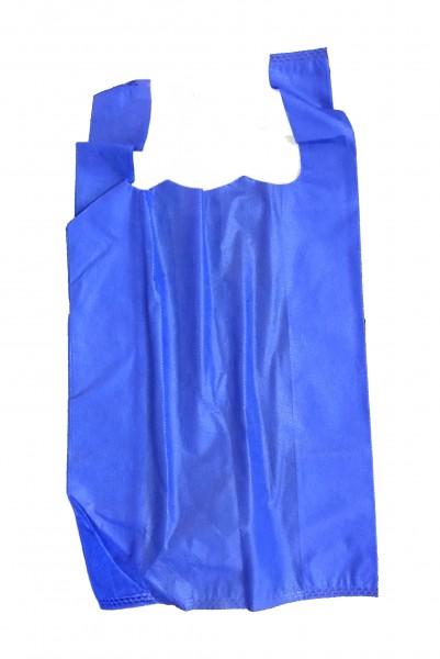 PP-Vlies Hemdchentragetaschen Farbe: blau