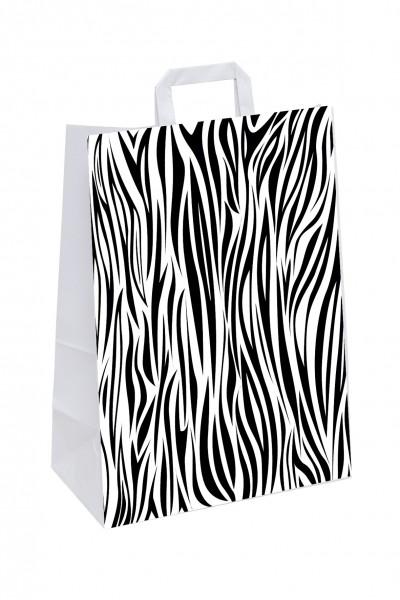 """Papiertragetaschen Topcraft """"Zebra"""""""