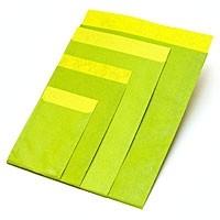 Flachbeutel - Kraftpapier limone-quitte T3
