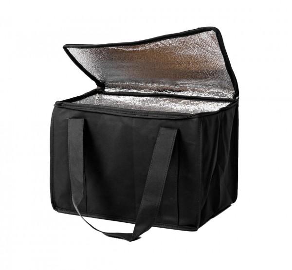 PP-Vlies Kühltaschen Farbe: schwarz - B11
