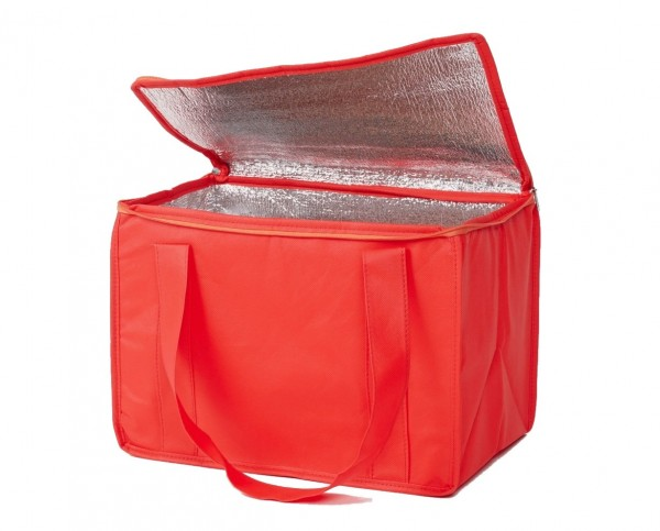 PP-Vlies Kühltaschen Farbe: rot - B1