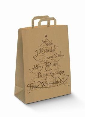 """Papiertragetaschen Topcraft """"Weihnachtsbaum"""""""