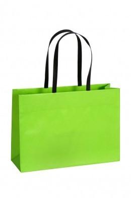 Opti - Papiertragetaschen Farbe: grün
