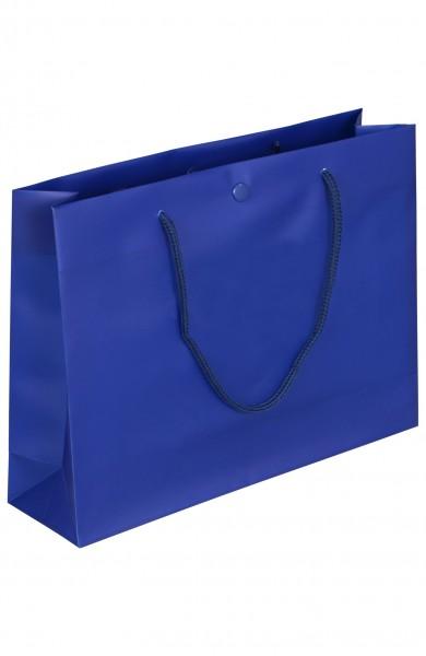 DeLuxe - Folientragetaschen Farbe: blau