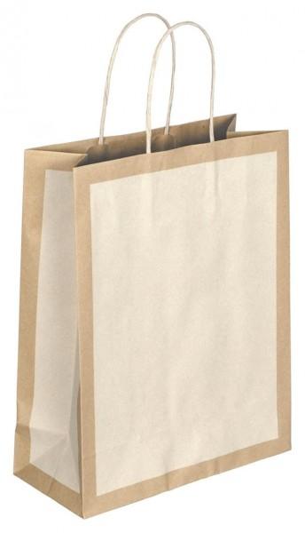 Papiertragetaschen Eco Farbe: elfenbein
