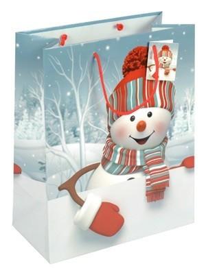 """Weihnachts - Tragetaschen """"Schnee Seppi"""""""
