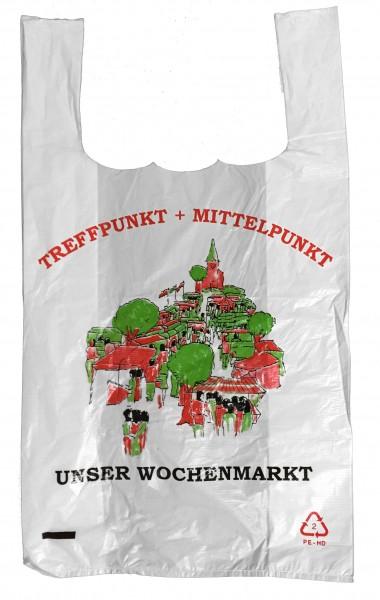 """Hemdchentragetaschen """"Treffpunkt Wochenmarkt"""""""