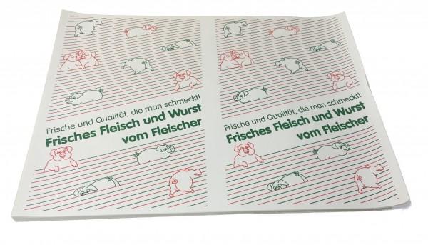 """Frischpack weißCell 35 gr/qm """"frisches Fleisch"""" - 1/4 Bogen"""