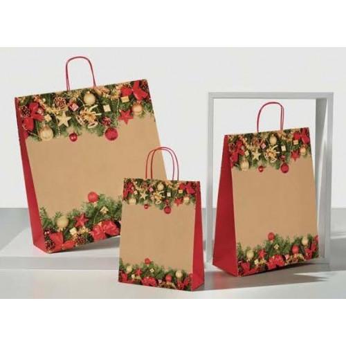 """Weihnachts - Tragetaschen """"Cortina rot"""""""