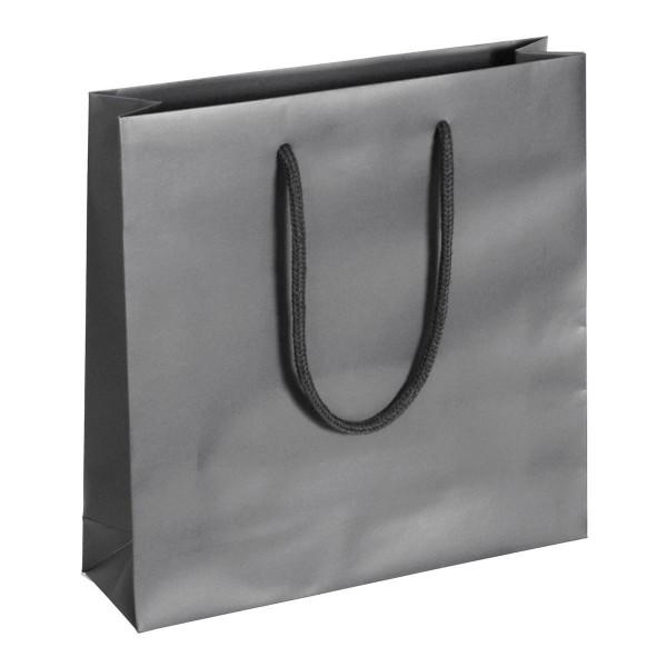 Carat - Papiertragetaschen Farbe: grau