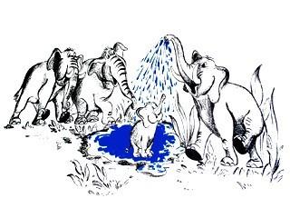 "ColCell 50 gr/qm ""Elefanten"" - 75cm SR"