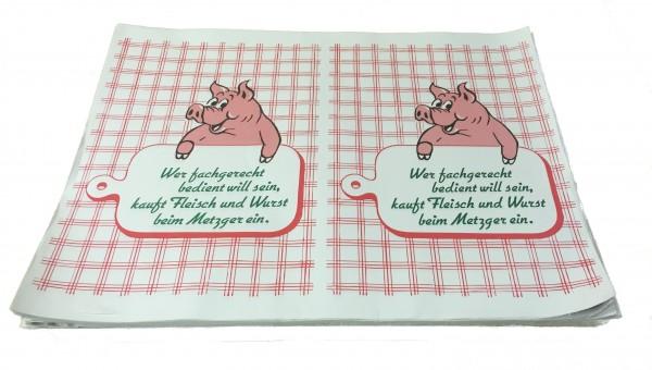 """ColCell 50 gr/qm """"Schwein + Brett"""" - 1/4 Bogen"""