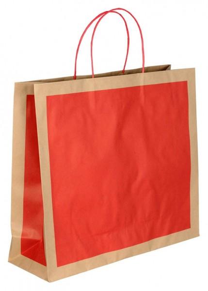 Papiertragetaschen Eco Farbe: rot