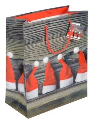 """Weihnachts - Tragetaschen """"Zipfelmützen"""""""